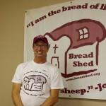 Bread Shed board member Greg Gilberto
