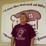 Bread Shed board member Jim Ward