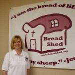 Bread Shed board member Shirley Harwell