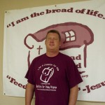 Bread Shed board member Jim Ward